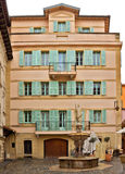 Monaco - arkitektur av furstendömet Arkivfoton