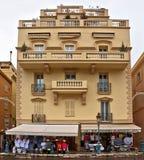 Monaco - arkitektur av furstendömet Royaltyfri Fotografi