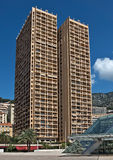 Monaco - arkitektur av staden Royaltyfri Bild