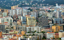 Monaco - Background buildings Stock Images