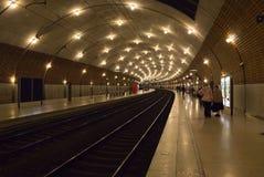 Monaco - Bahnstation Lizenzfreie Stockbilder