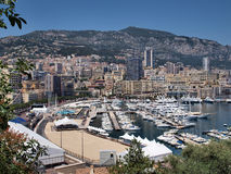Monaco bay Royalty Free Stock Photo