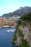 Monaco bay view Royalty Free Stock Photography