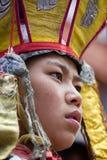 Monaco buddista tibetano durante il festival di Hemis a Ladakh, India del nord Immagine Stock Libera da Diritti