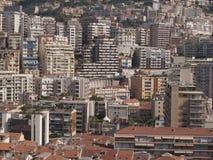 MONACO Building. Intensive Building in Monaco Royalty Free Stock Photos