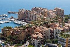 Monaco building roofs Royalty Free Stock Photos