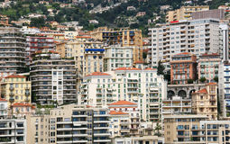 Monaco buildings Royalty Free Stock Photo