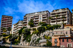 Monaco Buildings Stock Photography