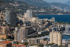 Monaco Buildings I Royalty Free Stock Images