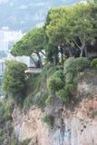 Monaco. Buildings, landscape with trees Stock Photo