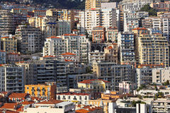 Monaco buildings Royalty Free Stock Image