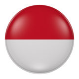 Monaco button Stock Image