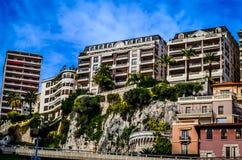 Monaco byggnader Arkivbild
