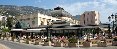 Monaco - Cafe de Paris Stock Images