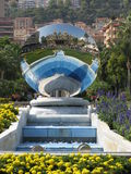 Monaco casino reflection Royalty Free Stock Images
