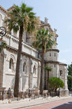 Monaco Cathedral Royalty Free Stock Photography