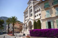 Monaco cathedral Stock Image