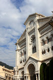 Monaco cathedral Royalty Free Stock Image