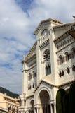 Monaco cathedral. Is a Roman Catholic church in Monaco-Ville, Monaco Royalty Free Stock Image