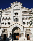 Monaco Cathedral Royalty Free Stock Photos