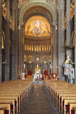 Monaco Cathedral Royalty Free Stock Images