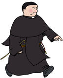 Monaco cattolico illustrazione di stock