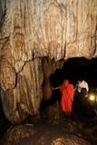Monaco in caverna Immagine Stock Libera da Diritti