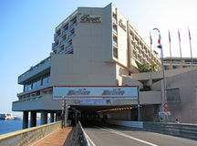 Monaco Circuit - The Tunnel Entrance Royalty Free Stock Photos
