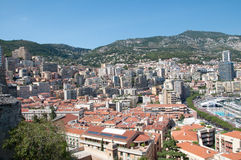 Monaco City Royalty Free Stock Photo