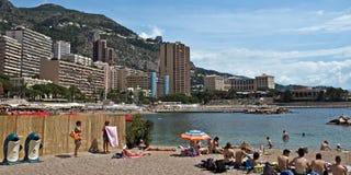 Monaco - City Beach Stock Photography