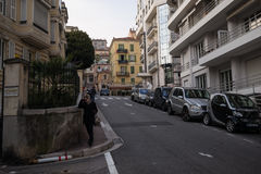 Monaco City street Royalty Free Stock Images