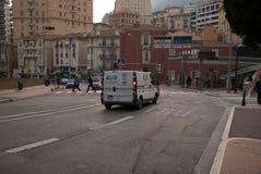 Monaco City Street Stock Photography