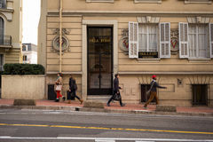 Monaco City Street Royalty Free Stock Photography