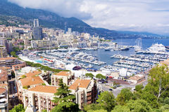 Monaco  city view Royalty Free Stock Image