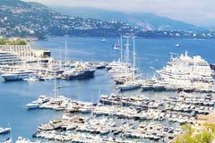Monaco  city view Royalty Free Stock Photos