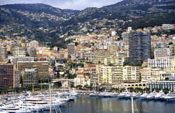 Monaco Cityscape Royalty Free Stock Photo
