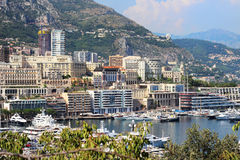 Monaco cityscape Stock Photo