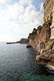 Monaco coast Royalty Free Stock Image