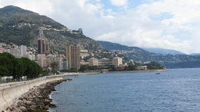 Monaco Coastline Stock Photos