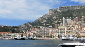 Monaco Coastline Stock Images