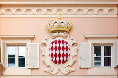 Monaco coat of arms Stock Images