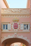 Monaco Coat of Arms Royalty Free Stock Photography