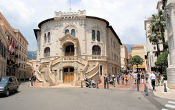 Monaco Courthouse. Welcomes visitors Royalty Free Stock Images