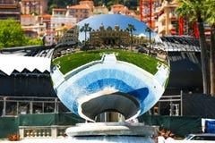 Monaco 02 Czerwiec 2014 Monte, Carlo Uroczysty kasyno, - Jeden world Fotografia Royalty Free