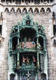 Monaco di Baviera, dettaglio dei campanelli Immagini Stock Libere da Diritti