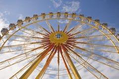 Monaco di Baviera, Frühlingsfest, la rotella Fotografia Stock Libera da Diritti