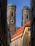 Monaco di Baviera Frauenkirche Fotografia Stock