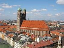 Monaco di Baviera Frauenkirche, Germania Fotografia Stock Libera da Diritti