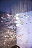 Monaco di Baviera, Germania 17 giugno 2012: Lotti degli emblemi ha dei modelli di BMW Fotografie Stock Libere da Diritti
