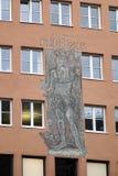 MONACO DI BAVIERA, GERMANY/EUROPE - 25 SETTEMBRE: Murale della st Onuphrius sulla a Fotografia Stock